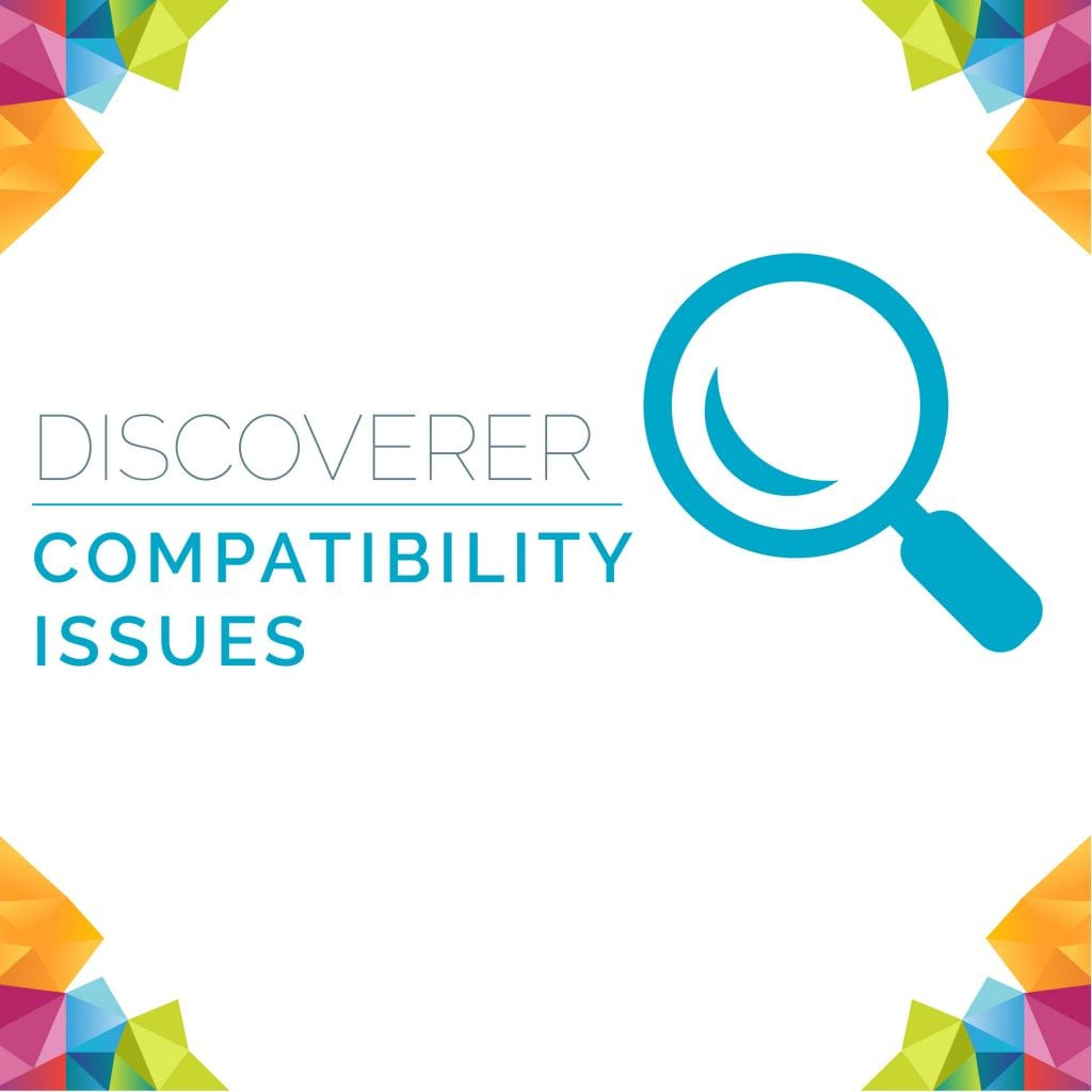 Discoverer Compatibility Issues