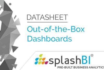 SplashBI Dashboards 4
