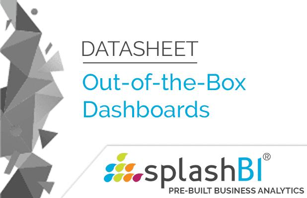 SplashBI Dashboards 6