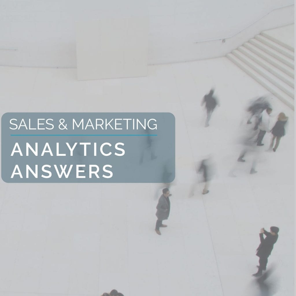 Sales & Marketing: Analytics Answers