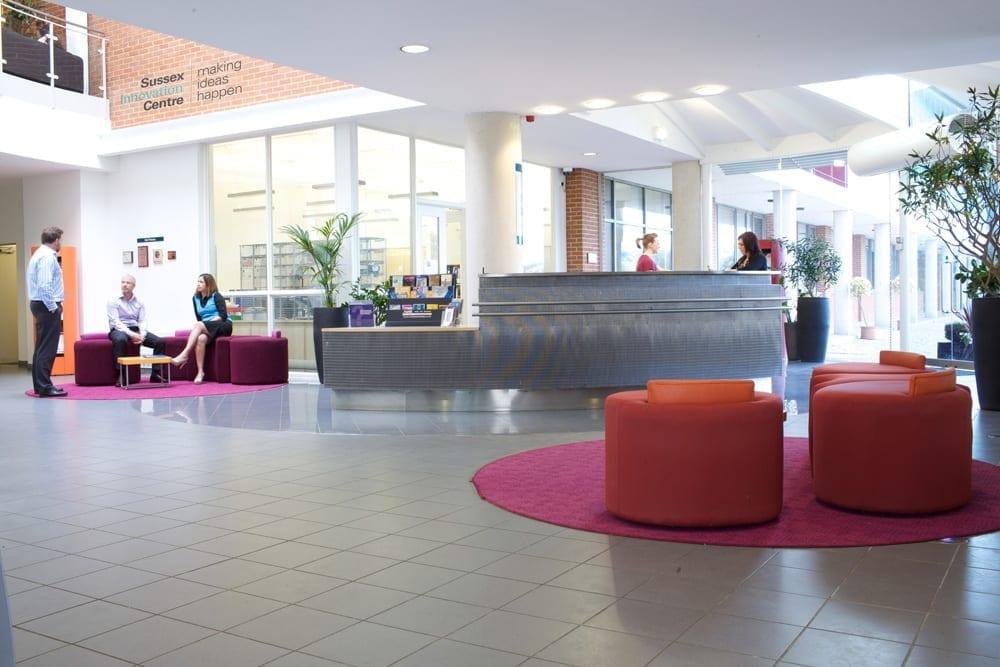 Centre reception area