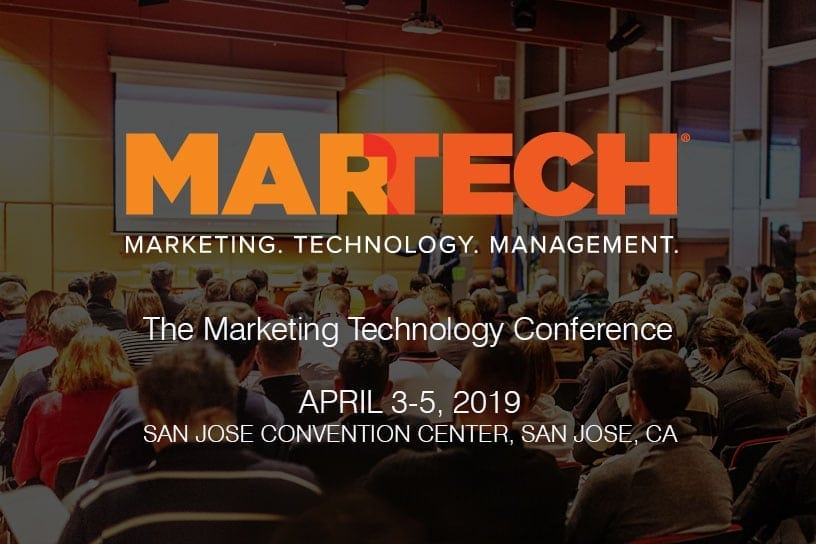 Martech The Marketing Technology Conference – 2019