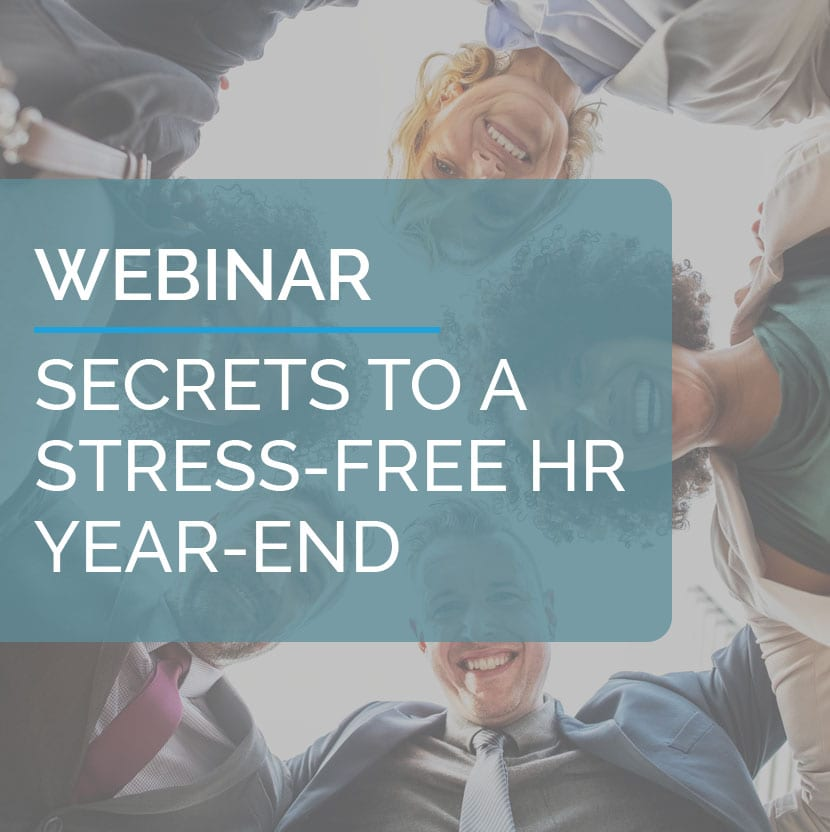 Secrets to a Stress-Free HR Year-End 1