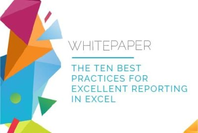 Whitepaper   10 Best Practices for Reporting in Excel 7