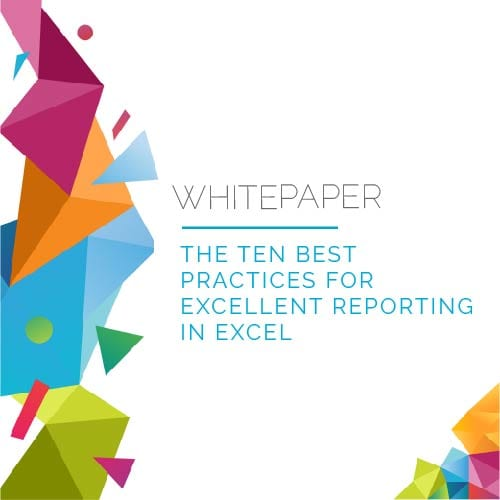 Whitepaper | 10 Best Practices for Reporting in Excel 9