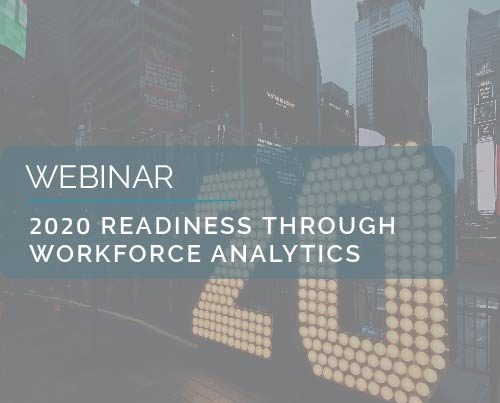 2020 Readiness Through Workforce Analytics 1