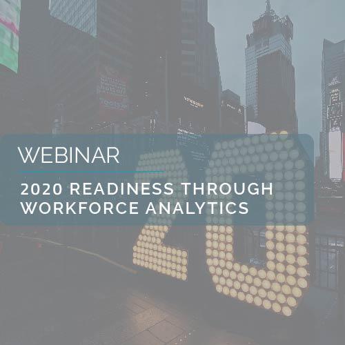 2020 Readiness Through Workforce Analytics 2