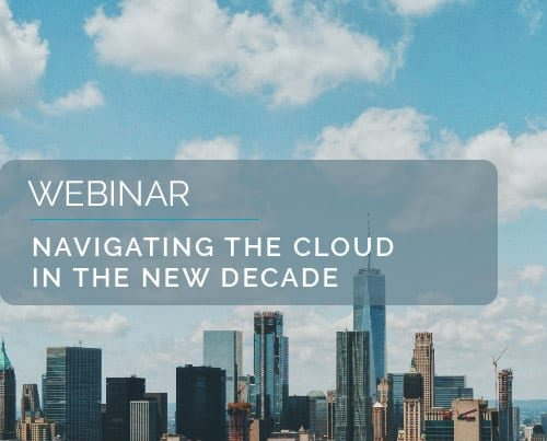 Navigating The Cloud in the New Decade 1