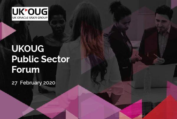 UKOUG Public Sector Forum 1