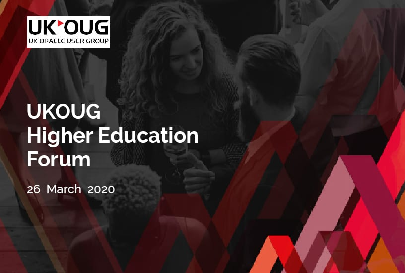 UKOUG Higher Education Forum 2