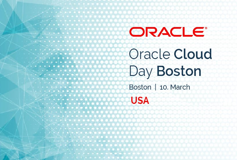 Oracle Cloud Day Boston (USA) 7
