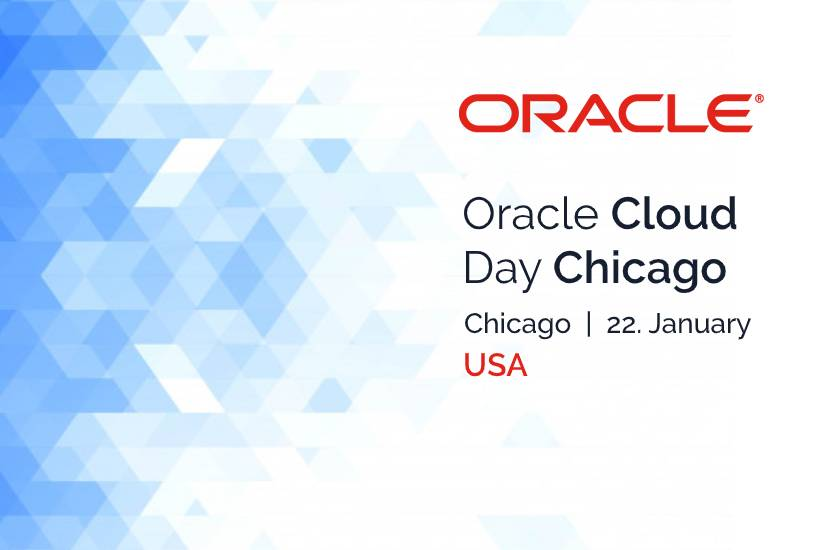 Oracle Cloud Day Chicago (USA) 1