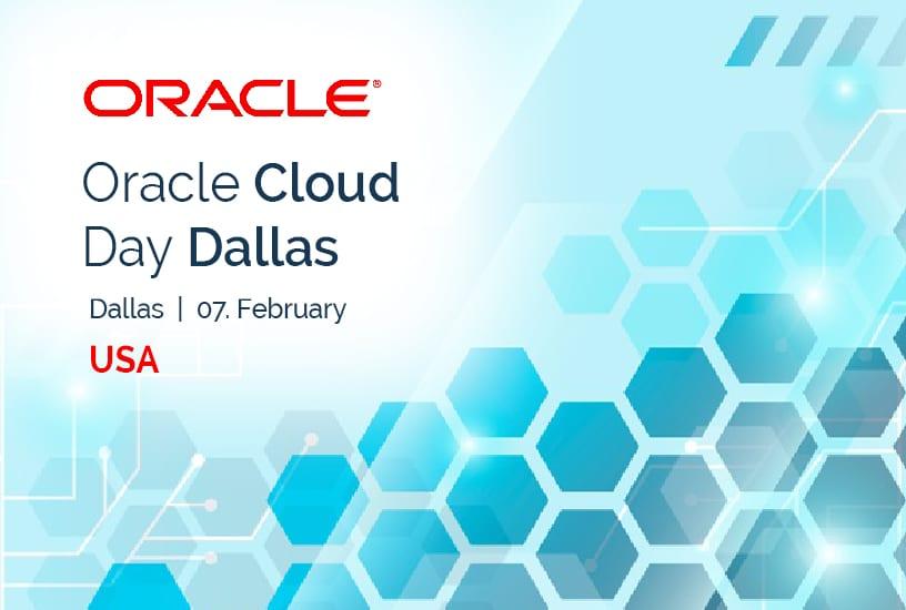 Oracle Cloud Day Dallas (USA) 1