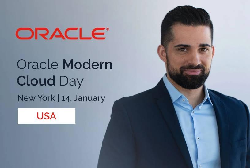 Oracle Modern Cloud Day (USA) 1