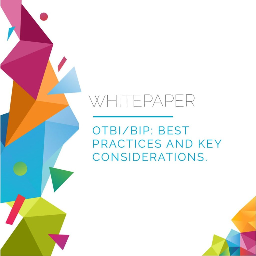 OTBI-BIP: Best Practices and Key Considerations 5