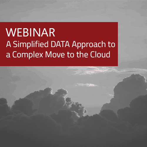 Webinar - A Simplified Data Approach to Complex Move to Cloud 8