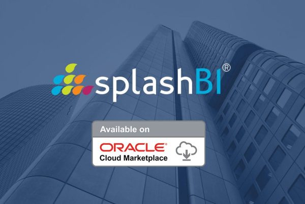 SplashBI Products Available in Oracle Cloud Marketplace! 3
