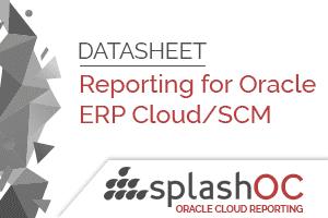 SplashBI for Oracle Cloud ERP 2