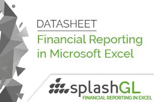 SplashGL Financial Reporting Datasheet 8