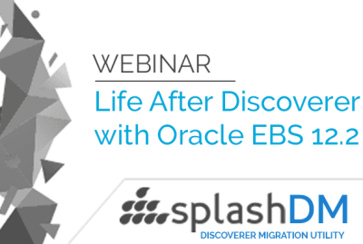 Webinar - Life Beyond Discoverer with Oracle EBS Suite R12.2! 17