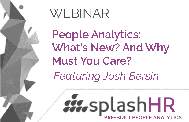 People Analytics:  What's New? And Why Must You Care? 3