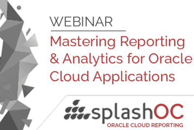 Mastering reporting and analytics for Oracle Cloud Applications 16