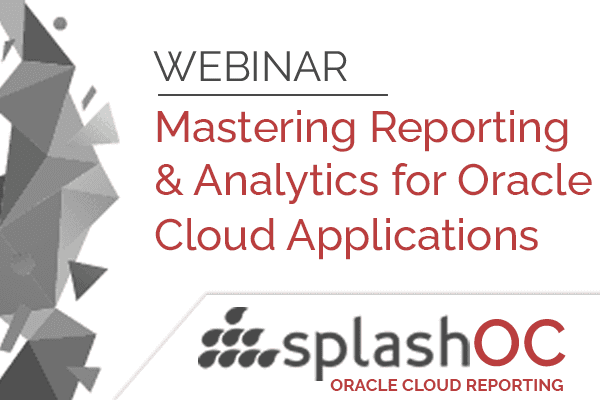 Mastering reporting and analytics for Oracle Cloud Applications 1