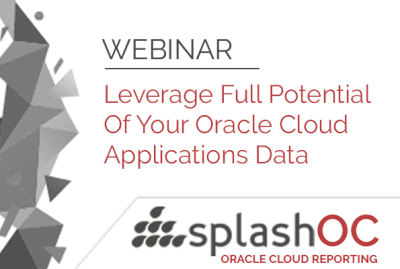 Leverage Full Potential Of Your Oracle Cloud Applications Data 15