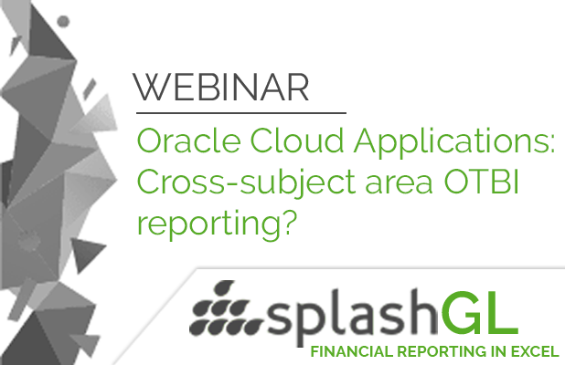 Oracle Cloud Applications:  Struggling with cross-subject area OTBI reporting? 1