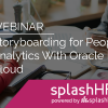 Storyboarding for People Analytics With Oracle HCM Cloud 4