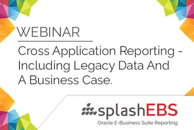 Cross Application Reporting - Including Legacy Data & A Business Case. 4