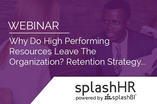 Why Do High Performing Resources Leave The Organization? 1