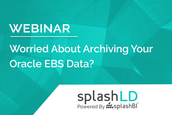 Worried About Archiving Your Oracle EBS Data? 3