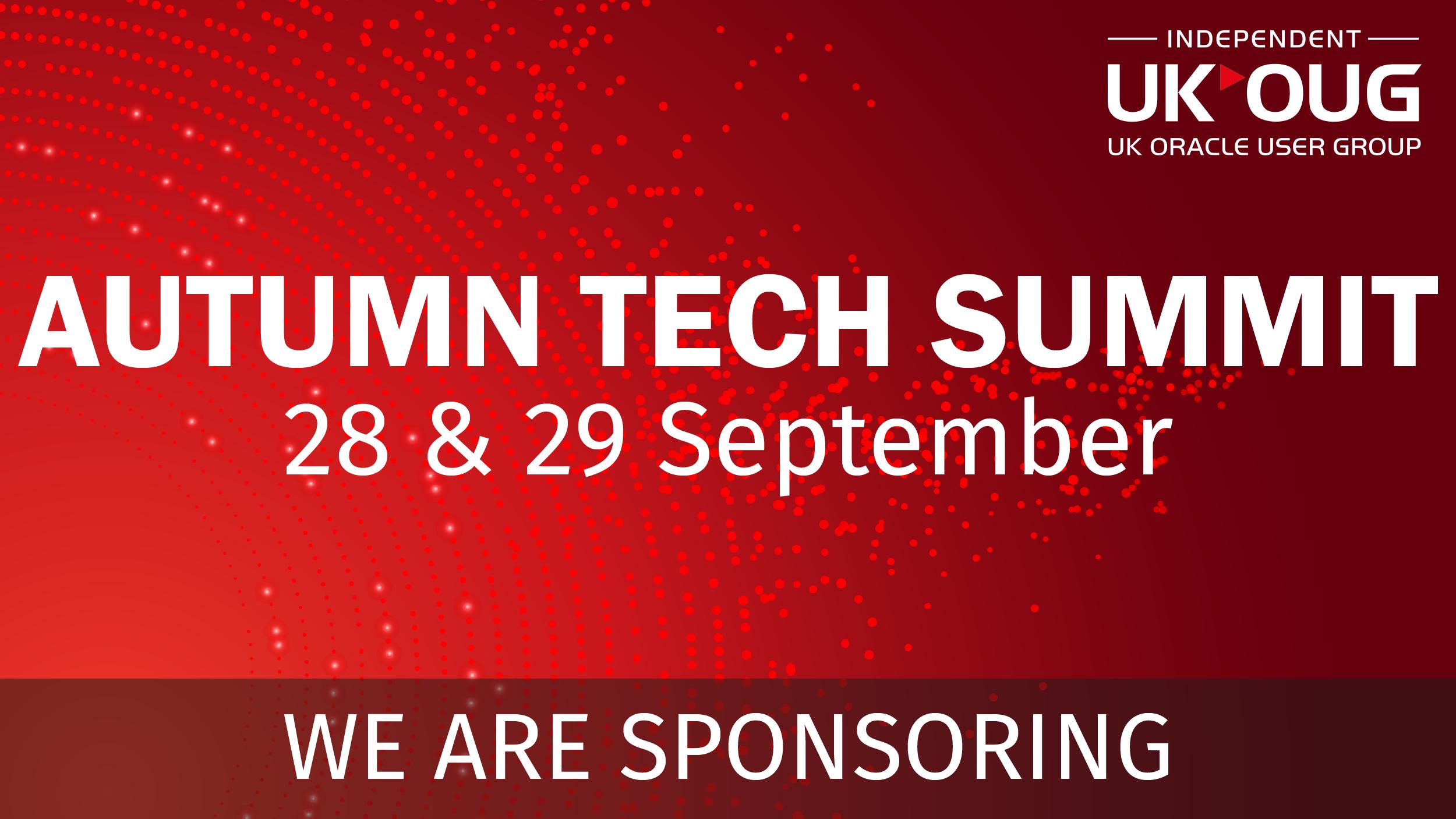 UKOUG Technology Summit 1